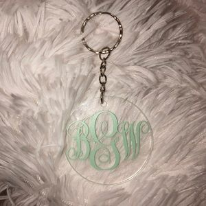 Other - monogram key chains